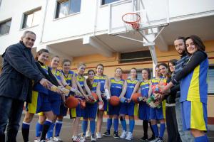 Integrants de l'equip junior femení.
